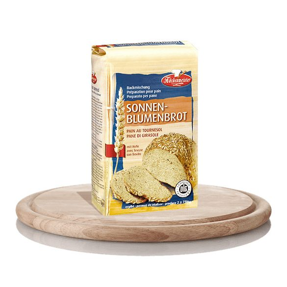 Napraforgómagos Kenyér Sütőkeverék, Kenyérliszt 1kg